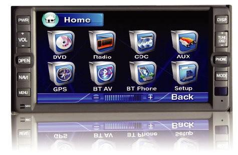 Jármű specifikus navigáció-multimédia Toyota standard